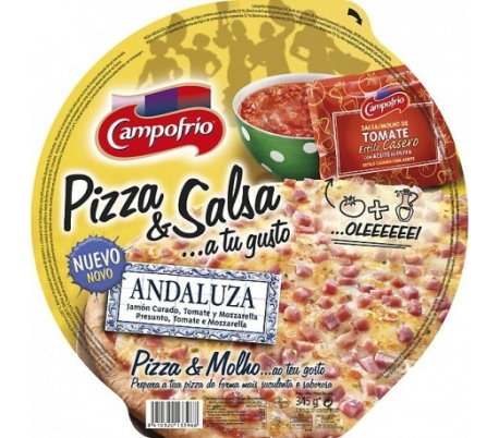 PIZZA ANDALUZA CF.410GR.