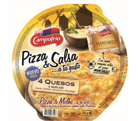 PIZZA 4 QUESOS CAMPOFRIO 365 GRS.