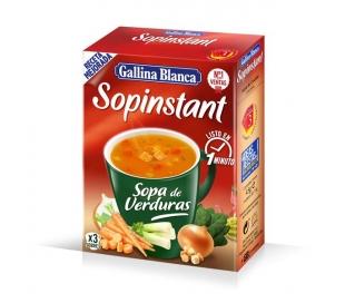 SOPA SOPINSTANT VERDURA GALLINA BLANCA 57GR