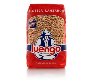 LENTEJAS LANZAROTE LUENGO 500 GR.