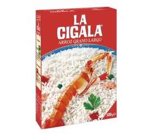 ARROZ GRANO LARGO CIGALA 500 GRS.