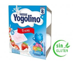 COMPOTA IOGOLINO FRESA NESTLE PACK 4X100 GR.