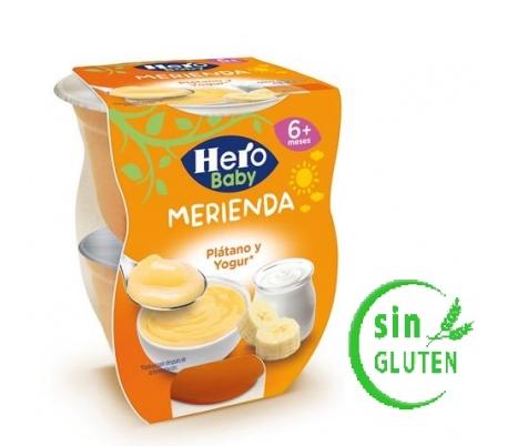 compota-merienda-platano-yogur-hero-baby-pack-2x130-grs