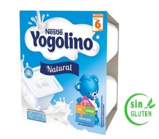 POSTRE INFANTIL NATURAL YOGOLINO PACK 4X100 GR.