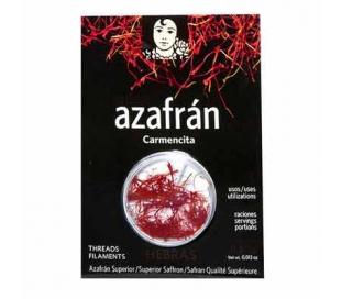 AZAFRAN HEBRAS EXTRA CARMENCITA 0,38 GRS.