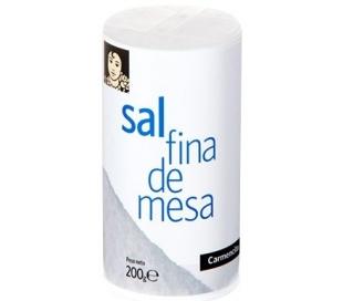 SAL FINA DE MESA CARMENCITA 200 GR.