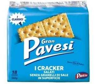 GALLETAS CRACKERS BAJA EN SAL PAVESI 560 GRS.