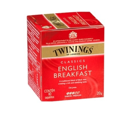 INFUSION TE ENGLISH TWININGS 10 UDS.