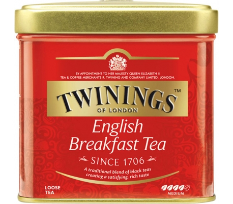 INFUSION TE ENGLISH BREAKFAST TWINING 100 GRS.