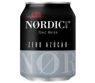 REFRESCO TONICA MIST ZERO NORDIC 250 ML.