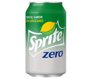 REFRESCO LIMA-LIMON ZERO SPRITE 330 ML.