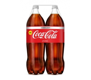 REFRESCO LIGHT COCA COLA PACK 2X2 L.