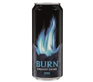 BEBIDA ENERGETICA BAJO ZERO BURN 500 ML.