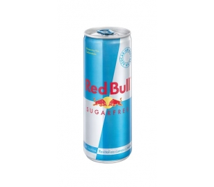 BEBIDA ENERGETICA SUGARFREE LATA RED BULL 250 ML.