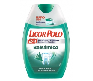PASTA DENTAL BALSAMICO LICOR POLO 75 ML.