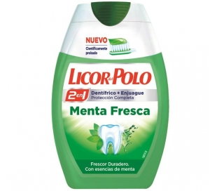 ENJUAGUE BUCAL MENTA FRESCA LICOR POLO 75ML.