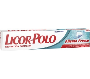 PASTA DENTAL ALIENTO FRESCO LICOR POLO 75 ML.
