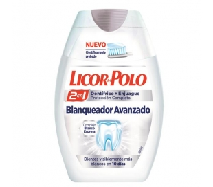 PASTA DENTAL BLANQUEADOR LICOR POLO 75 ML.