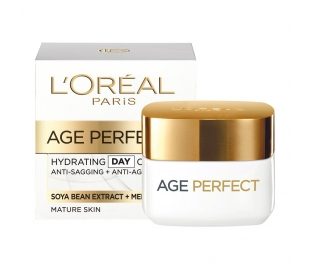 CREMA HIDRATANTE AGE PERFECT DIA LOREAL 50 ML.
