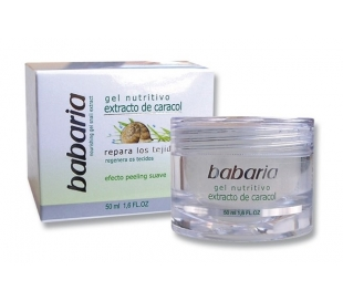 CREMA FACIAL EXTRACTO CARACOL BABARIA 50 ML.