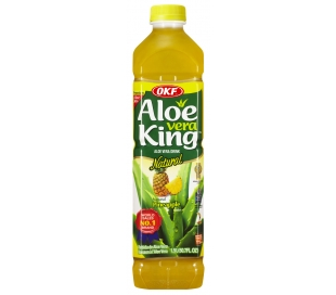 BEBIDA DE ALOE VERA PIÑA NATURAL ALOE KING 1,5 L.