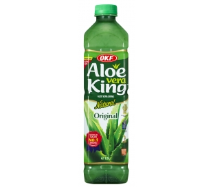 BEBIDA DE ALOE VERA NATURAL ORIGINAL ALOE KING 1,5 L.