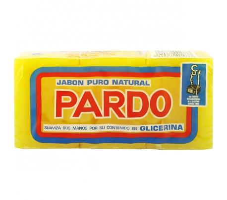 jabon-pastilla-pardo-pack-3x250-gr