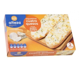 PANNINIS 4 QUESOS ALTEZA PACK 2X125 GRS.