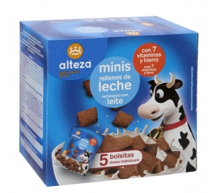 CEREALES MINI RELL.DE LECHE ALTEZA 175 GRS.