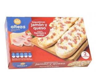 PANNINIS JAMON/QUESO ALTEZA PACK 2X125 GRS.