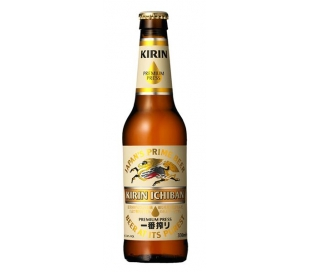 CERVEZA ICHIBAN JAPAN KIRIN 330 ML.