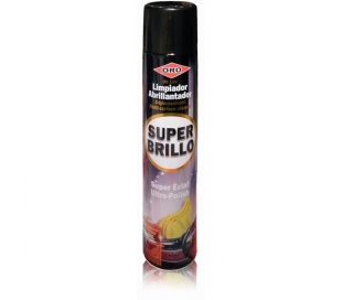 LIMPIADOR SUPER BRILLO ORO 400 ML.