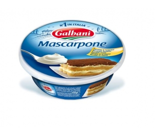 QUESO FRESCO ITALIANO MASCARPONE GALBANI 250 GRS.