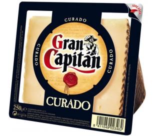 QUESO CURADO CUÑA GRAN CAPITAN 250 GRS.