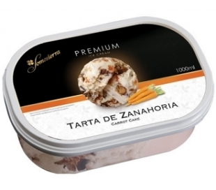 HELADO ZANAHORIA CAKE SOMOSIERRA 1000 ML.