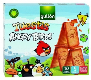 GALLETAS ANGRY BIRDS GALL.TUESTIS 600 GR.