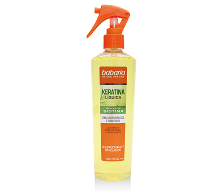 KERATINA LIQUIDA SPRAY BABARIA 300 ML.