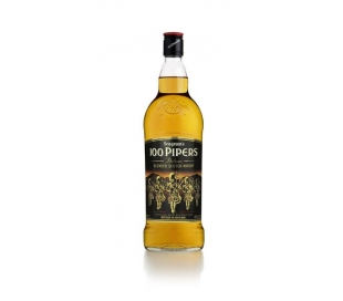 WHISKY 100 PIPERS 1L .