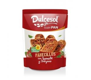 PANECILLOS TOSTADOS C/TOMATE Y OREGANO DULCESOL 160 GR.