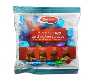 BOMBONES CHOCOLATE SURTIDOS DULCINEA 100 GRS.