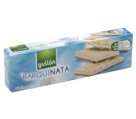GALLETAS BARQUILLO DE NATA GULLON 150 GR.