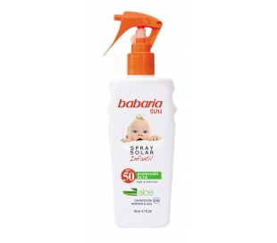 SPRAY SOLAR ALOE INF.SPF 50 BABARIA 200 ML.