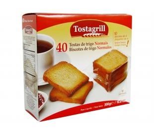 PAN TOSTADO TRIGO NORMAL DIATOSTA 300 GRS.