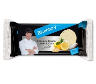 TORTITAS ARROZ CHOC.BLANCO,LIMON-CO BICENTURY 132 GRS.