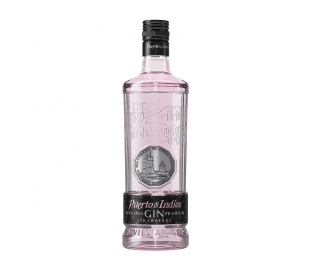 GINEBRA PREMIUM STRAWBERRY PUERTO INDIA 700 ML.