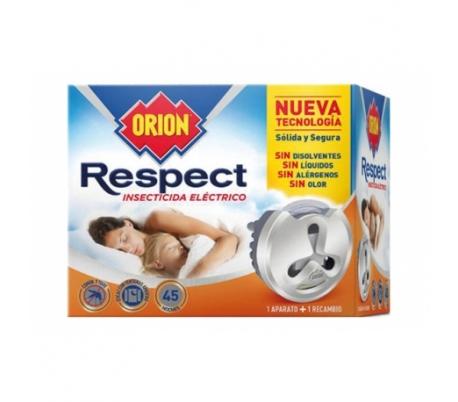 INSECTICIDA ELECTRICO RESPECT ORION 1 APARATO+1 RECAMBIO