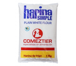 HARINA SIMPLE COMEZTIER 1 KG.