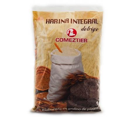 HARINA INTEGRAL DE TRIGO COMEZTIER 1 KG.