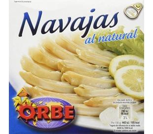 NAVAJAS AL NATURAL ORBE 111 GRS.
