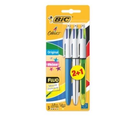 boligrafo-4-colores1fluor-bic-1u